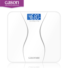 GASON A2 Precision Bathroom Scales Body Smart Electric Digital Weight Home Health Balance Toughened Glass LCD Display 180kg/50g - Store store