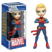PRE-SALE Original FUNKO Captain Marvel Rock Candy Vinyl Figure Doll Car Decoration free shipping(China)