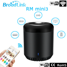Broadlink RM Mini3,Universal Intelligent WiFi+IR,Wireless Remote Switch Controller for IOS iphone Android,Smart Home Automation(China)