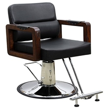 Hydraulic Barber Chair Styling Salon Work Station Chair(China)