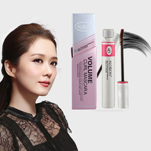 Black Ink 3d Fiber Lashes Mascara Individual Curl Eyelash Extension Colossal Mascara Volume Express Makeup 12ml(China)