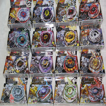 4D hot sale beyblade Wholesale -16 sets TOMY Rapidity Beyblade 4D spinning top spin toy metal fusion 16 models mixed free shippi