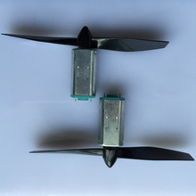 2set/pack J022 N40 Micro DC-motor with Black Propeller Model Airplane Motor Suit Free Shipping Russia