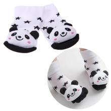 Buy Cute Newborn Baby Christmas Cartoon Animal Socks Anti-slip Rubber Sole Infant Socks 3D Soft Warm Unisex Toddler Floor Socks for $1.06 in AliExpress store