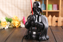 Movie Star Wars Darth Vader Piggy Bank Save Money Box PVC Action Figure Collectible Model Toy 22cm KT425