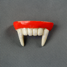 Vampire Zombie False Horrible Make Up Teeth Halloween Joke Masquerade TY0301(China)