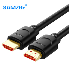 SAMZHE Gold-plated 4K*2K Ultra High Resolution HDMI Cable for TV Blu-Ray Game-box Roku Displayer(China)
