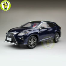 1/18 Toyota Lexus RX 200T RX200T Diecast Model Car Suv hobby collection Gifts Blue Color