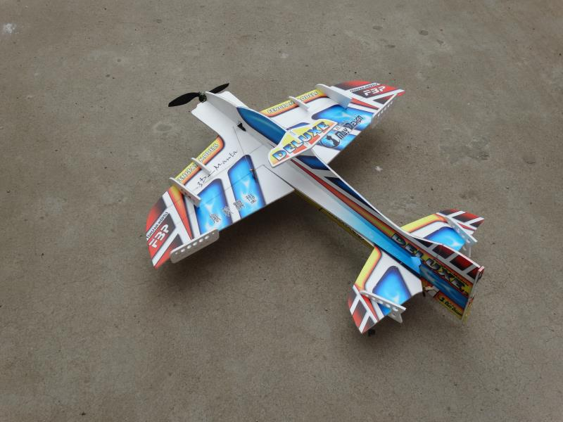 RC electric remote control plane airplane part parts pp material Deluxe 3d fly includes Landing gear