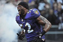 "Ray Lewis male Fabric Poster 36"" x 24"" 20""x13"" --01(China)"