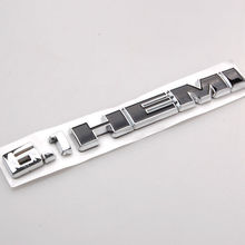BBQ@FUKA New Chrome 6.1 HEMI 6.1HEMI Emblem Badge Decals Sticker ABS Fit For 2008-2010 DODGE CHALLENGER ect