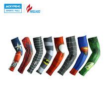 ARSUXEO Arm Sleeve Printed Armwarmer MTB Bike Bicycle Sleeves Cycling Arm Sleeves UV Protection Sleeves Manguito Ciclismo XTN02(China)
