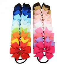 20pc infant Kids Girl Toddler Hair Bows Clip Grosgrain Ribbon Headband Head Band Accessrory Gifts