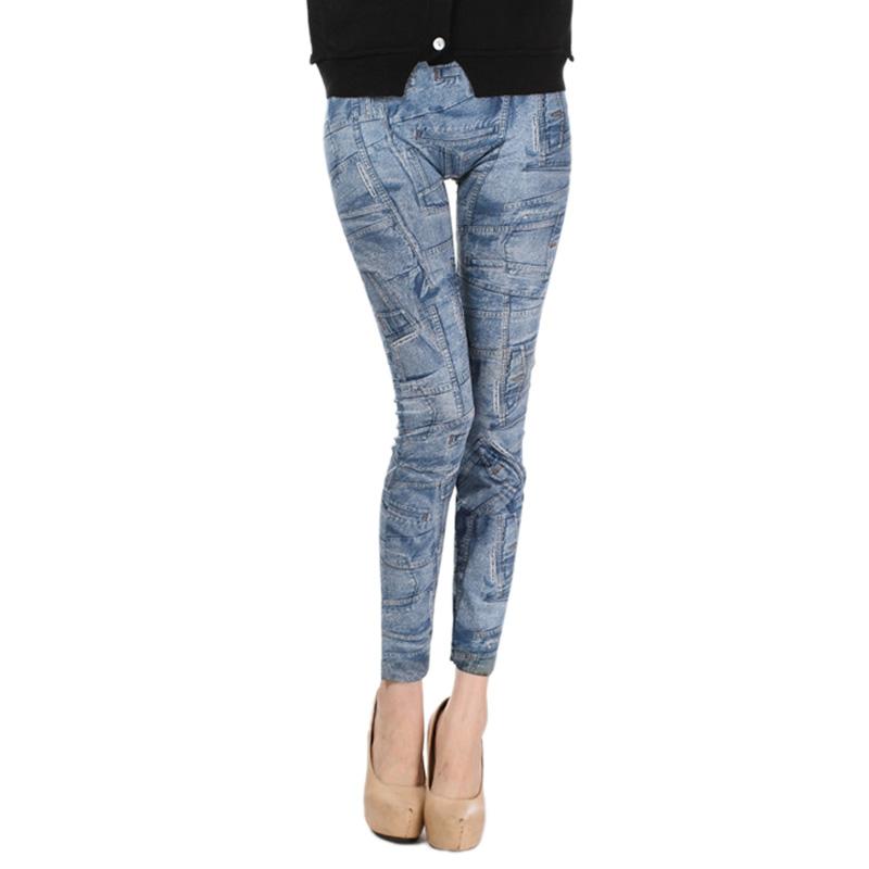Comfortable Skinny Pants Denim Legins Women Fashion Sexy Women Jean Skinny Leggings Stretchy Slim Leggings 20