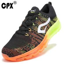 Brand CPX men's sport running shoes music rhythm men's sneakers breathable mesh outdoor athletic shoe light male shoe size 40-46(China)