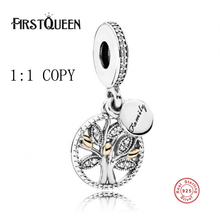 FirstQueen Real 925 Sterling Silver Pendants Family Heritage Pendant Charm Fit Original Bracelets Authentic Fine Jewelry Factory