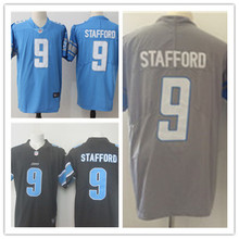 Mens 9 Matthew Stafford Jersey 2017 Rush Salute to Service High Quality Football Jerseys(China)