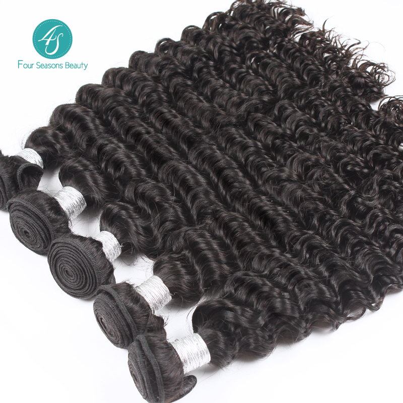 6A Indian Virgin Hair 10pcs/Lot Wholesale Deep Wave Hair Extensions 100% Unprocessed Curly Human Hair Weave Free Shippping<br><br>Aliexpress