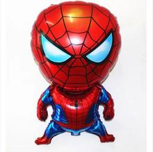 1PC 80*47cm Spiderman Ballon Classic Toys for Christmas Birthday Wedding Decorations Party Inflatable Air Balloons Drop Shipping(China)