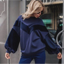 Buy 2018 New Spring Winter Fashion Women Clothing Long Sleeve O-Neck Casual T-shirts Women Red Velvet Patchwork Warm Female T-shirt for $11.52 in AliExpress store