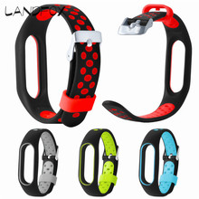 Buy LANDFOX 2017 New Waterproof Lightweight Ventilate TPE Wrist Band Strap Wristband Bracelet XIAOMI MI Band 2 Dropshipping for $3.20 in AliExpress store