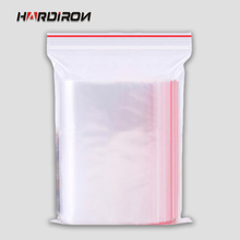 0.08mm Small Ziplock Bags Self sealing ziplock plastic pouches Reclosable Plastic Poly Clear Ziplock bags(China)