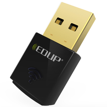 EDUP mini usb wi-fi adapter 300mbps high quality 802.11n wifi receiver wireless usb ethernet adapter network card notebook PC(China)
