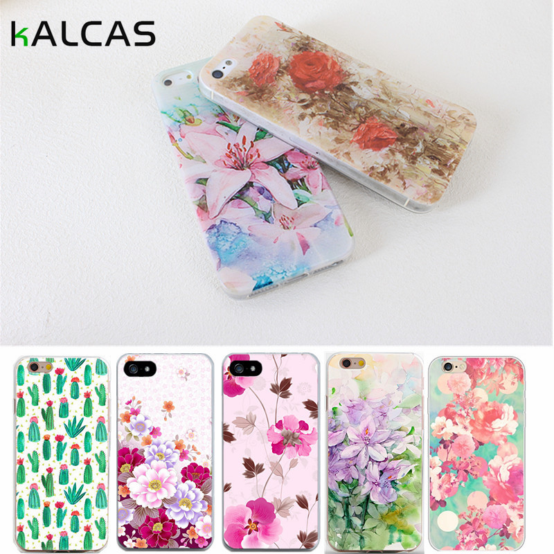 Case For iPhone 6 6S 5 5S SE 7 4 4S Cases Floral Paisley Flower Silicone Soft Phone Cover For iPhone 6 6S 5 5S SE 7 4 4S(China (Mainland))