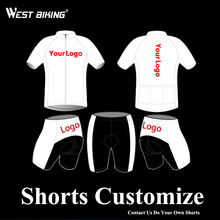 WEST BIKING Custom Made All Kinds of Cycling Short Jersey Sets MTB Road Bicycle Clothing Suits Bike Shorts Cycling Jersey Pants