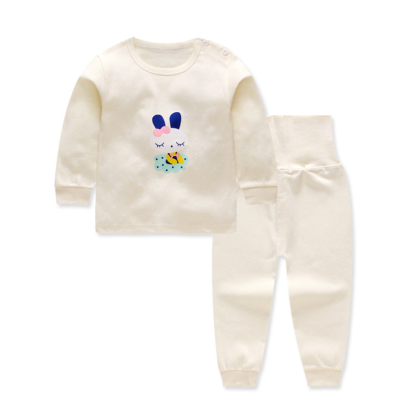 Cartoon Long sleeve baby girls Clothes cotton Babys Sets 62866 hot selling<br>
