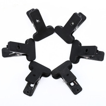 CY 6pcs Professional Photography Studio Background stand holder Clips Big long Backdrop Clamps Pegs Photographic equipment