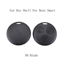 3 Buttons without Blade Replacement Car key shell Benz SMART Fortwo Mercedes Benz Case Hot Sale