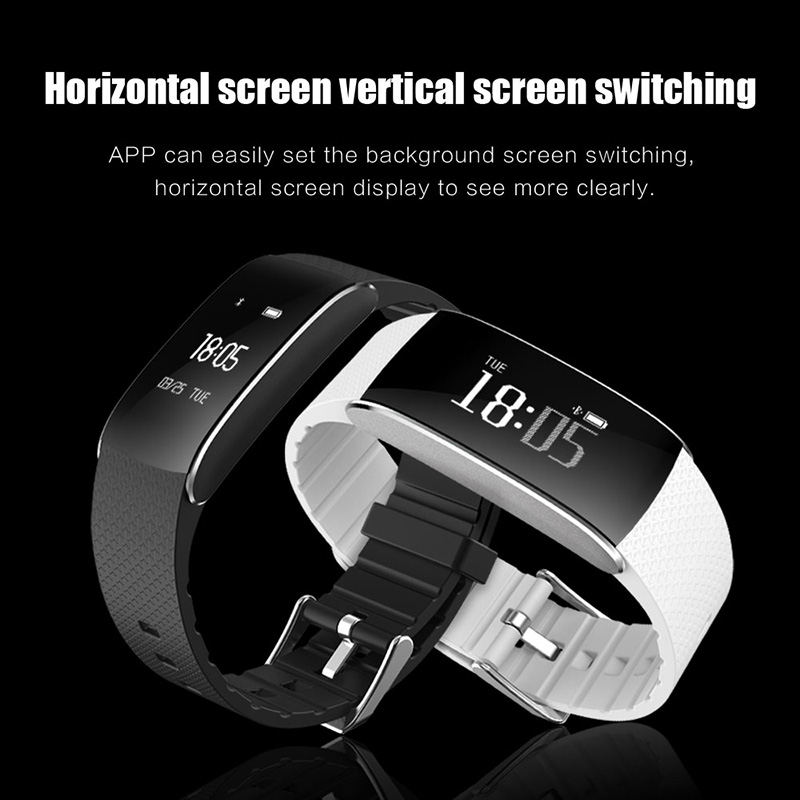 A86 Smartband Heart Rate Blood Pressure Watches Pulse Monitor Smart Band Fitness Bracelet Activity Tracker Wristband Pedometer 5