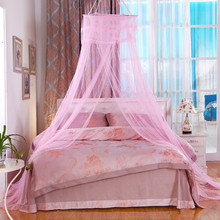 mosquito net Bedroom Home Canopies Bed Canopy Netting Curtain Midges Insect Mesh Mosquito Net moustiquaire canopy klamboe(China)