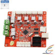 2017 Updated 3D Printer Control Motherboard for Anet V1.0 Printer Control Reprap Mendel Prusa for anet A8 3D Printed Main board