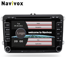 Navivox 2 Din 7 Inch Car DVD Video Multimedia Player For Volkswagen/VW/Passat/POLO/GOLF/ For Skoda/Seat/Leon GPS Navigaiton RDS(China)