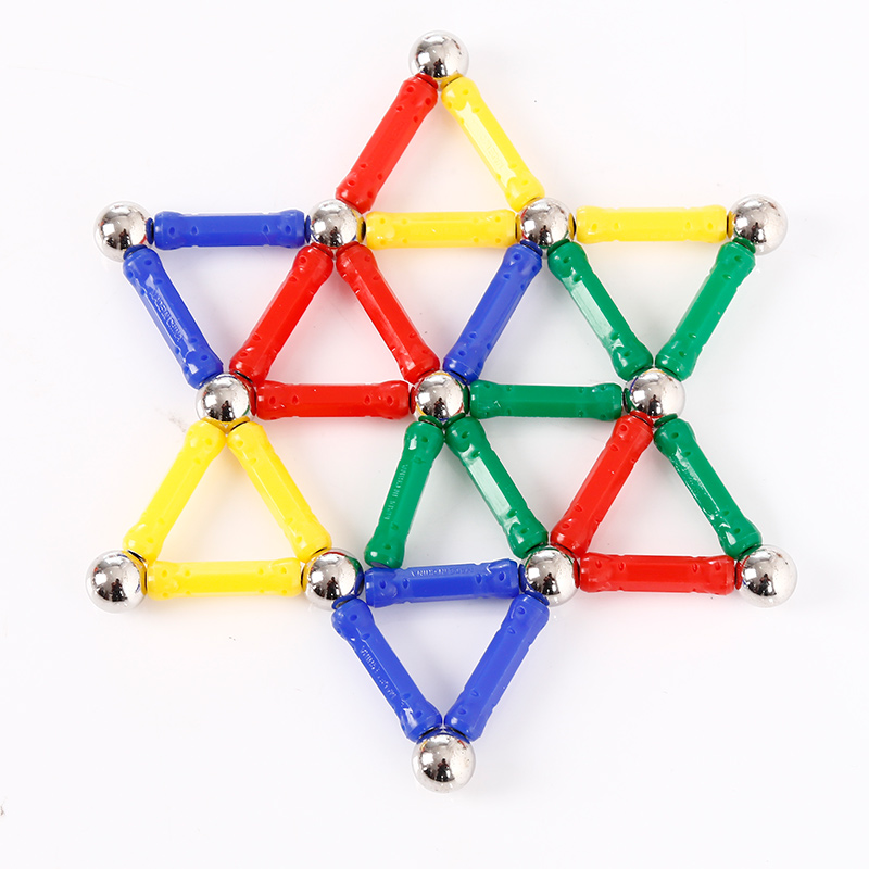 Magnetic Building  Stick Magnets Early Educational Puzzle For Babys<br><br>Aliexpress
