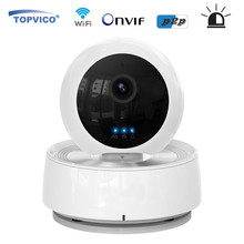 Alarm WIFI IP Camera Wireless PTZ Pan Tilt 720P 1.0 MP ONVIF p2p plug play WIFI Surveillance Cam HOME Security Camera