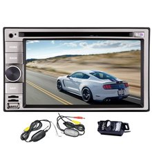 6.2 inch Car DVD Player GPS Navigation Stereo /DVD/iPhone iPod/AM FM Radio/Bluetooth Free 4GB Map Card+Wireless Back Camera