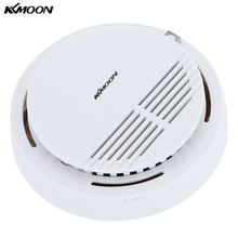 High Sensitivity Smoke Detector Fire Smoke Alarm Sensor Standalone Photoelectric Smoke Detector Security System For Home Kitchen(China)