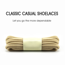 Buy 1 Get 1 FREE Multi-Colors Round Shape Shoelace Terylene Shoe Running Jogging Fitness Laces Adult Boot Shoelaces