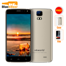 "Original Vkworld S3 3G WCDMA Mobile Phone MTK6580A Quad Core 5.5"" HD Android 7.0 1GB RAM 8GB ROM 1280x720 Smartphone 2800mAh"