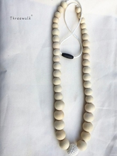 5pc Wholesale price natural handmade top round crochet beaded necklace for gift jewelry(China)