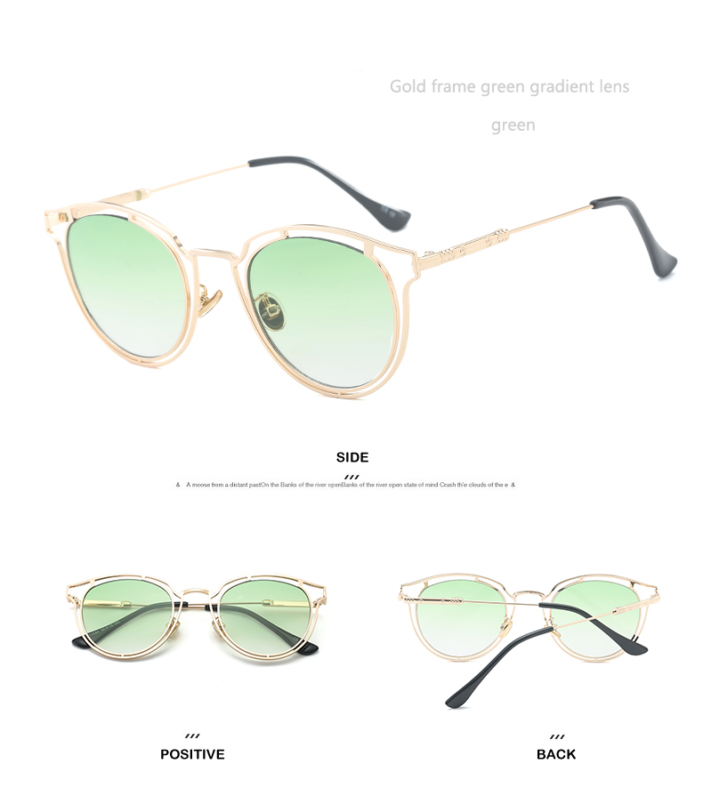 Sunglasses Men Round Sunglasses Women Oculos Redondo Ladies Sunglasses Women Unisex Sunglasses Women Brand Designer 2018 Eyewear