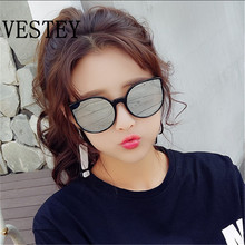2017 Fashion Brand Sunglasses For Women Glasses Cat Eye Sun Glasses Male Mirror Sunglasses Men Glasses Female Vintage  Glasses