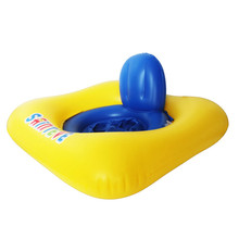 Square Shape Baby Swimming Ring Inflatable Seat Float Thicken Swimming Circle Lifebuoy For 10 to 36 Months Kids Pool Accessories(China)