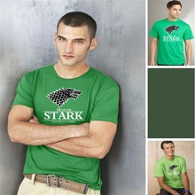 STARK Herren t-shirt Game of Thrones Shirt Winter is coming stark wolf funny casual t shirt  Summer plus fashion