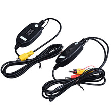 Wireless Transmitter Receiver For Car Reverse Rear View Camera Monitor