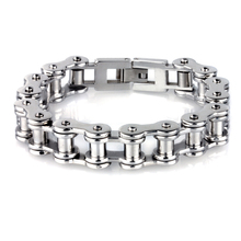 KB38685-D Bike chain bracelet European and American style men's titanium steel bracelet personalized jewelry new