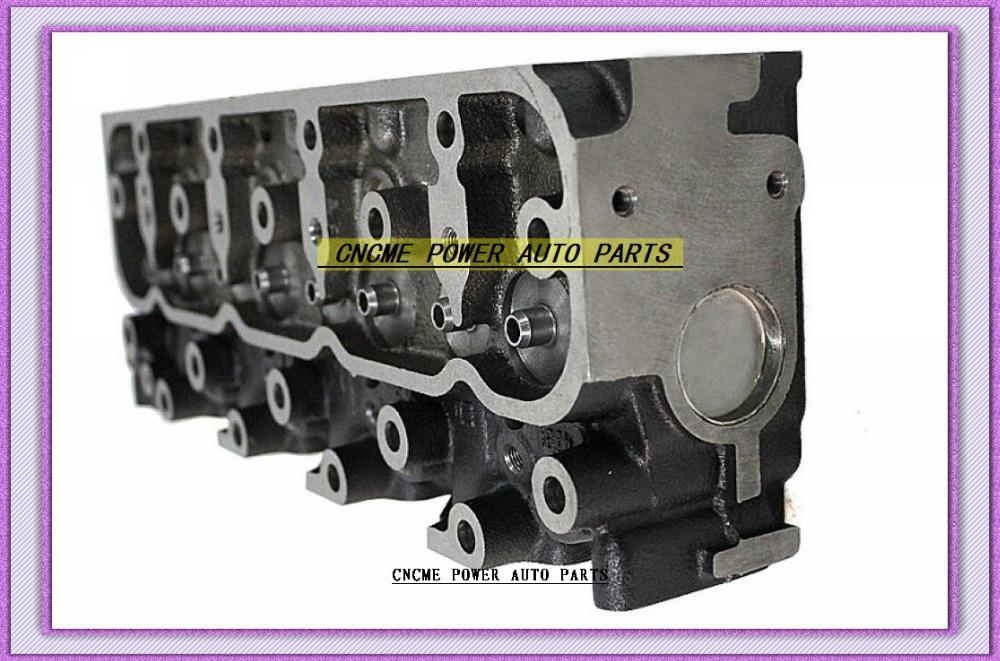 4JA1 2.5L Bare Cylinder Head 8-94125-352-6 8-94431-520-4 (6)
